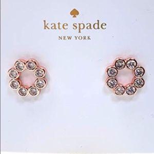 Kate Spade Full Circle Pave Crystal Earrings